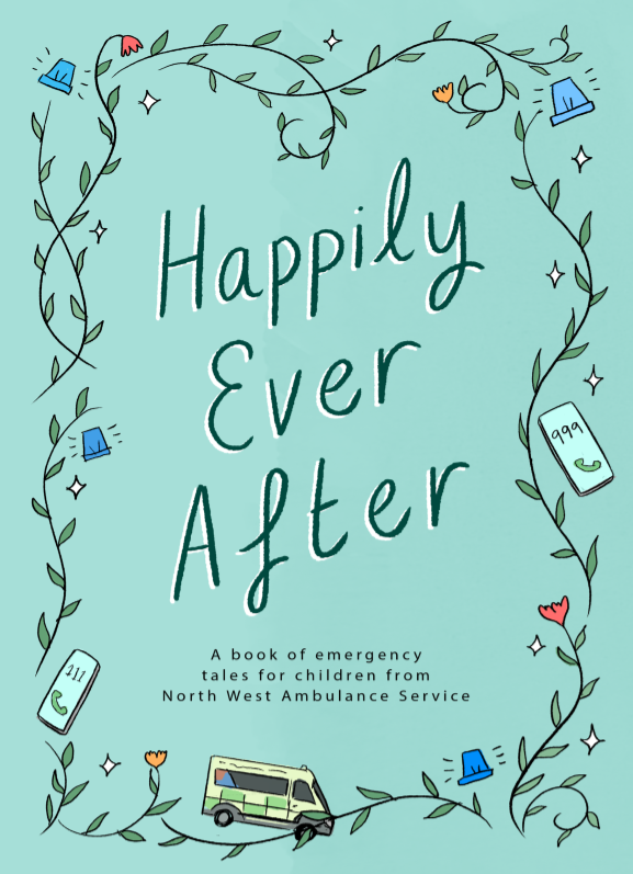 Happily Ever After story book front cover