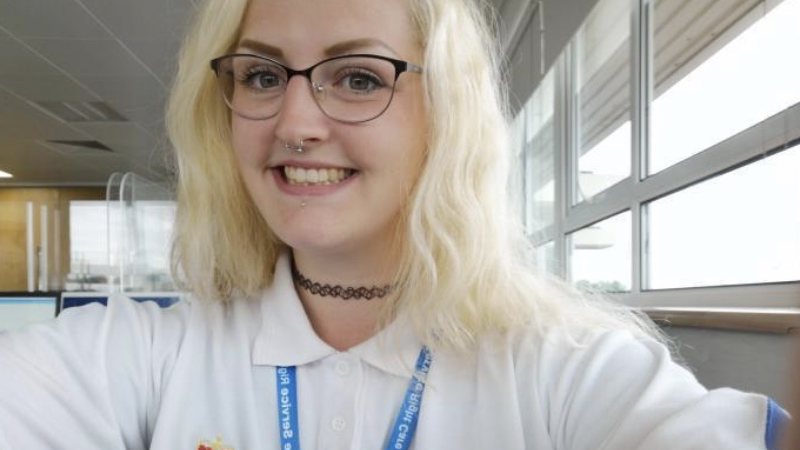 Zoe Hayes says she has landed her dream role at Team NWAS as NHS 111 health advisor.
