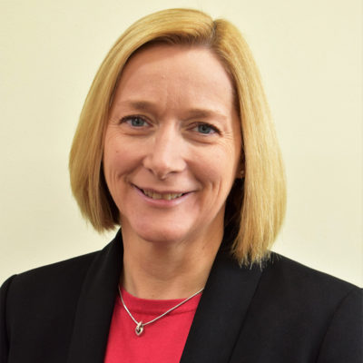 Photograph of NWAS board member Carolyn Wood