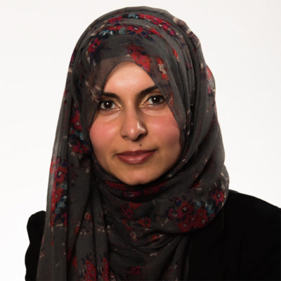 Photograph of NWAS board member Dr. Maria Ahmed