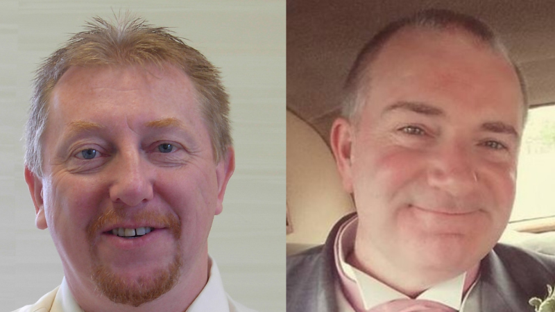 We say goodbye to long service managers Grahame and Jon