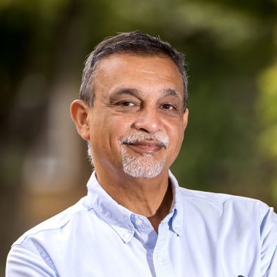Photograph of NWAS board member Dr Aneez Esmail