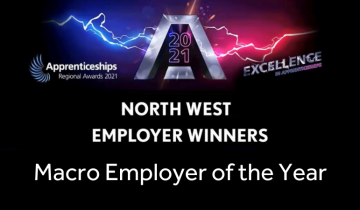 NWAS named as Employer of the Year with apprenticeship award